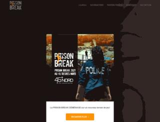 prisonbreakrace.ca screenshot