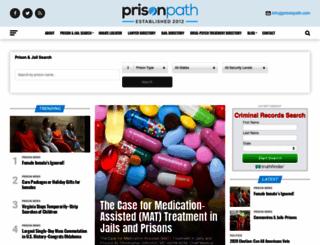 prisonpath.com screenshot