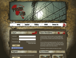 prisonrpg2.com screenshot