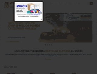 pristineglobal.com screenshot