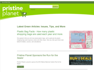 pristineplanet.com screenshot