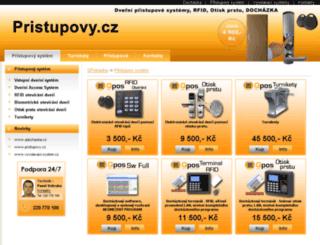 pristupovy.cz screenshot