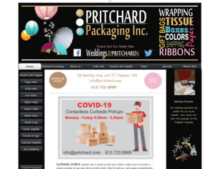 pritchard.com screenshot