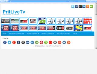 pritlivetv.com screenshot