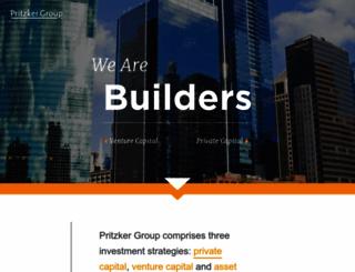 pritzkergroup.com screenshot