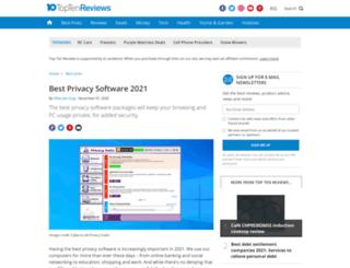 privacy-software-review.toptenreviews.com screenshot