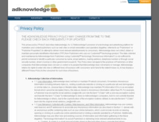 privacy.adknowledge.com screenshot