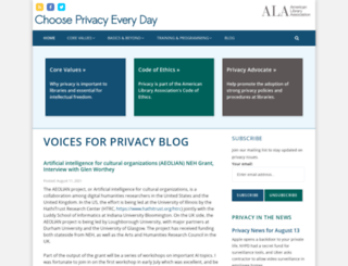 privacyrevolution.org screenshot