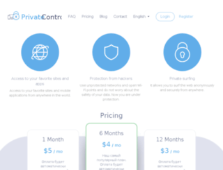 private-control.com screenshot