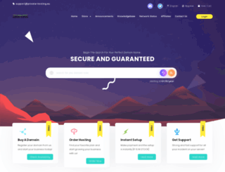 private-hosting.eu screenshot