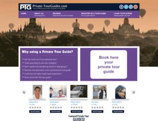 private-tourguides.com screenshot