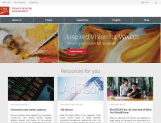 private-wealth.us.cibc.com screenshot