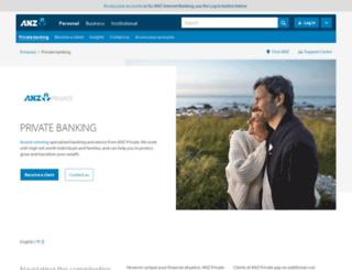 private.anz.com screenshot