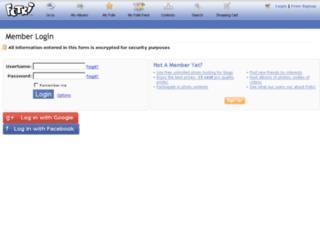 private.fotki.com screenshot