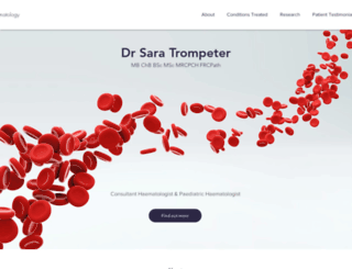 privatehaematology.com screenshot