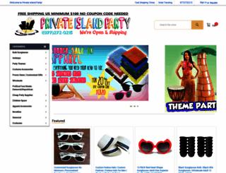 privateislandparty.com screenshot