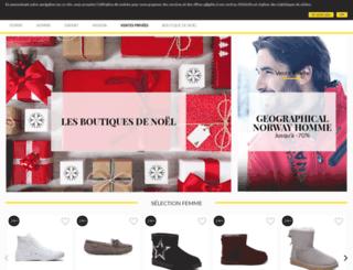 privateoutlet.fr screenshot