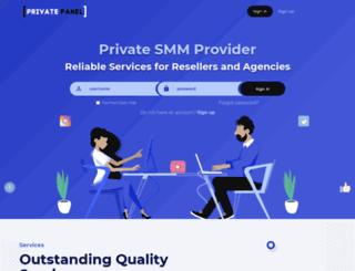 privatepanel.net screenshot