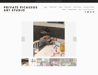 privatepicassos.com screenshot