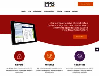 privatepracticesoftware.co.uk screenshot