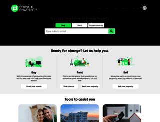 privateproperty.co.za screenshot