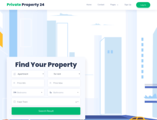 privateproperty24.co.za screenshot