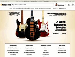 privatereserveguitars.com screenshot