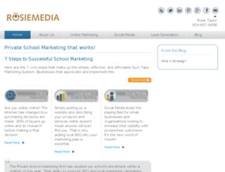 privateschool.rosiemedia.biz screenshot