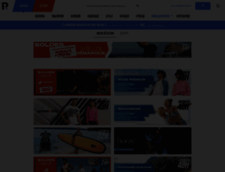 privatesportshop.fr screenshot