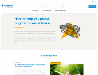 privatewealth.sanlam.co.uk screenshot