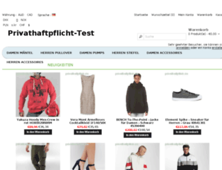 privathaftpflicht-test.de screenshot