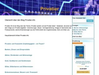privatier.info screenshot