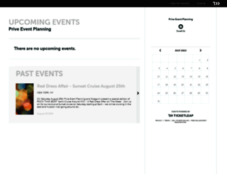 priveevents.ticketleap.com screenshot