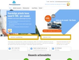 priveleasecenter.nl screenshot