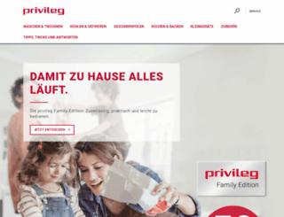 privileg.de screenshot