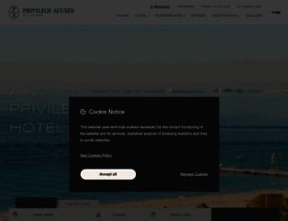 privilegehotels.com screenshot
