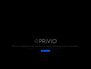 privio.net screenshot