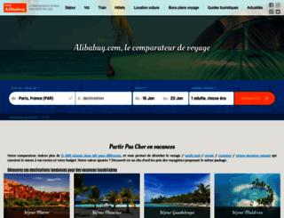 prixdesvoyages.com screenshot