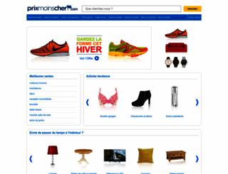 prixmoinscher.com screenshot