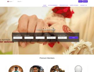 priyankamatrimony.com screenshot