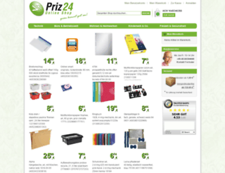 priz24.de screenshot