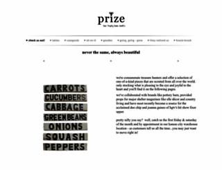 prizeantiques.com screenshot