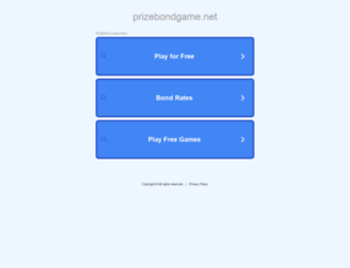 prizebondgame.net screenshot