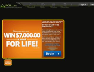 prizepatrol.pch.com screenshot