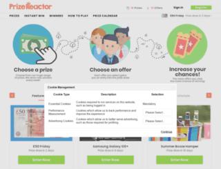 prizereactor.com screenshot
