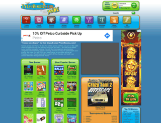 prizeroom.com screenshot