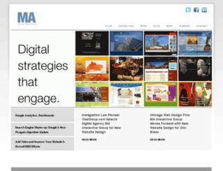 prj.mainteractivegroup.com screenshot