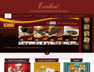 prjexcellentfoodproducts.com screenshot