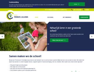 prjuliana.apeldoorn-onderwijs.nl screenshot