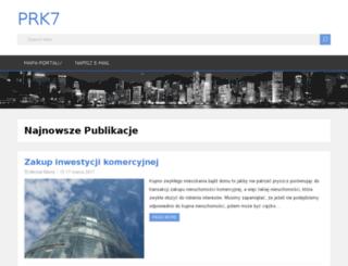 prk7.com.pl screenshot